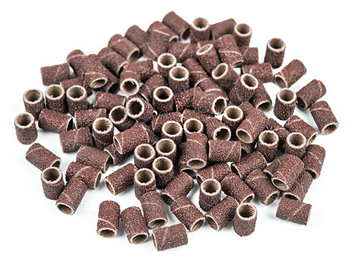 Nailtechnik 100 Abrasive Bands coarse
