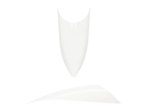 20 Bag STILETTO Tips #9 white