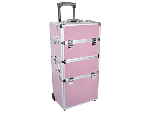 Beauty Trolley INFINITY Aluminum pink