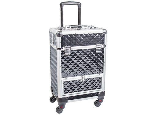 Beauty Trolley DIAMOND Aluminium black