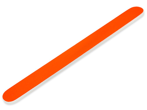 Premium File 180/240 Straight neon orange