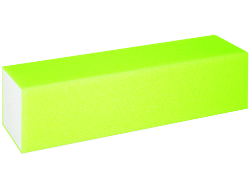Buffer SandingBlock 120 neon yellow