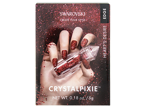 Swarovski® Crystalpixie™ Edge Nail Art Set - Heart's Desire