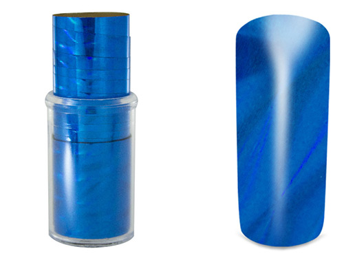 Nail Foil Blue Water