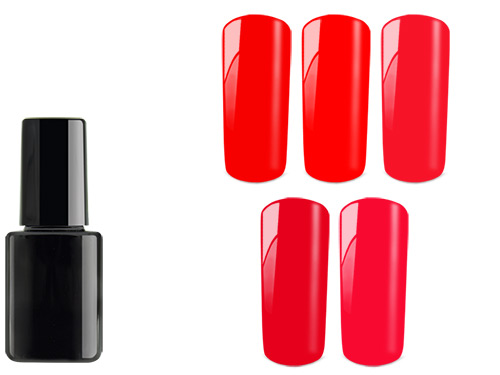 Shellac PolishGel Red Sample 6 x 12ml