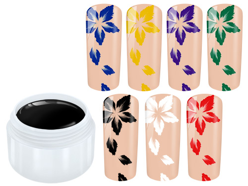 NailArt-Gel Painting Sample 7 x 5 ml