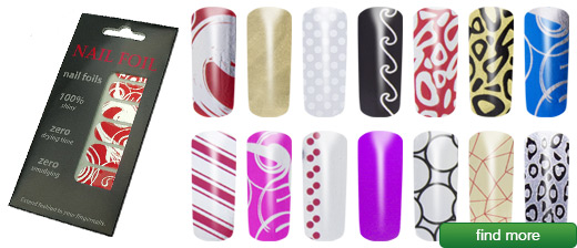 Nail Foils | The trend of Hollywood stars - you stick to paint instead