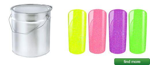 Neon glitter gel 1000ml | European Nail Shop