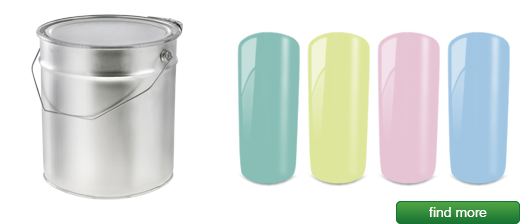 Pastel gels 1000ml | MADE IN GERMANY developed, produced and filled in Germany | European Nail Shop