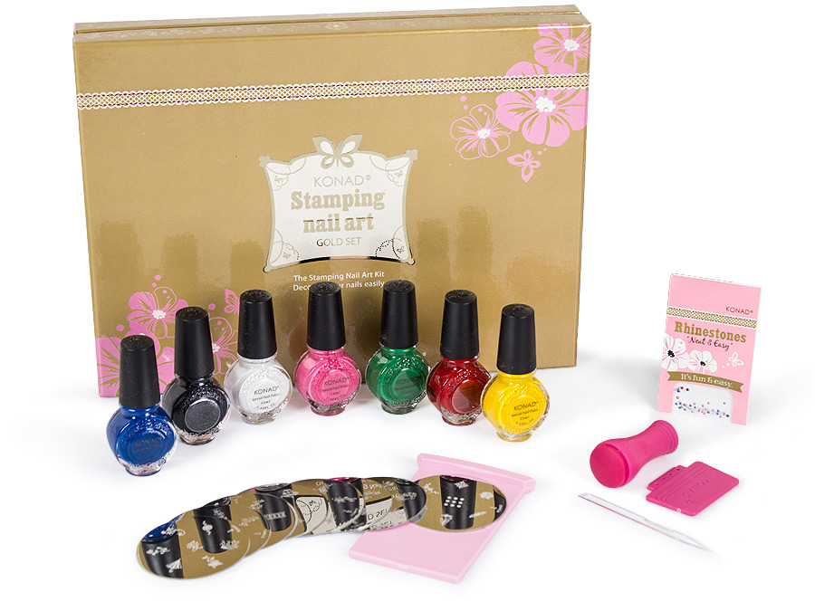 KONAD Gold Set - Made in Germany ✶ European Nail Shop